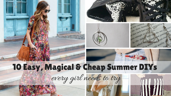 10 Easy, Magical & Cheap Summer DIYs Every Girl Needs to Try