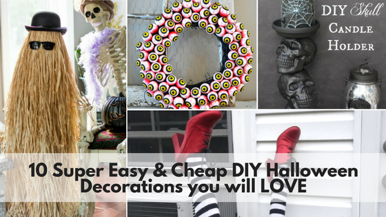 10 super easy cheap diy halloween decorations you will love